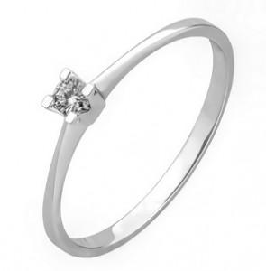 inel aur cu diamant