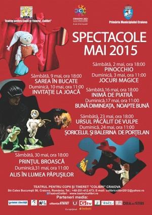 spectacole teatru craiova mai 2015