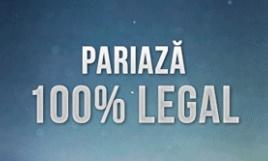 pariaza 100 la suta legal