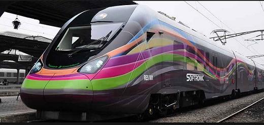 softronic softrans hyperion tren