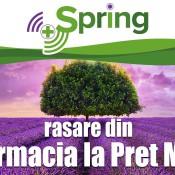 Spring Farma – noul brand pentru Farmacia la Pret Mic, cu aceleasi preturi mici